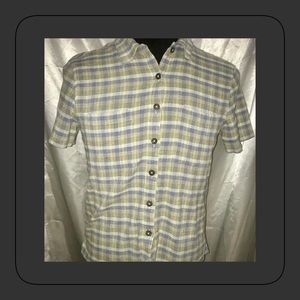 Women's Patagonia LARGE Button Down Top